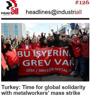 turkey strike