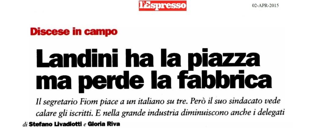Landini perde in fabbrica - L'Espresso270315_Pagina_1