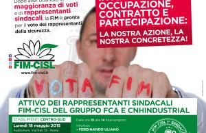 Poster attivo rappresentanti sicurezza maggio 2015 fca cnhi