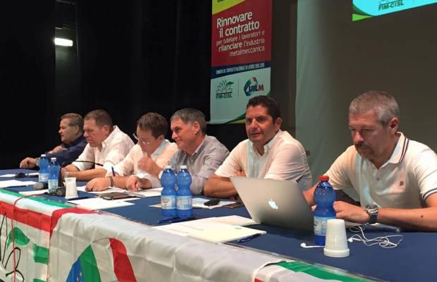 Assemblea delegati Fim Uilm  2015