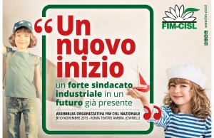Banner per sito assemblea organizzativa FIM CISL nazionale