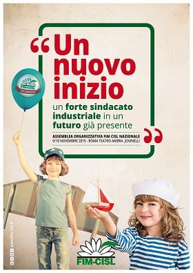 Poster assemblea organizzativa FIM CISL nazionalesito