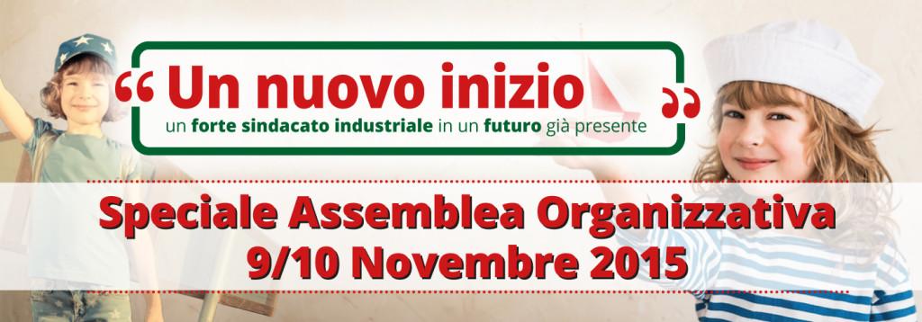 Banner piccolo sito assemblea organizzativa