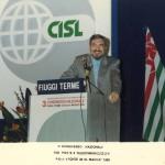 Raffaele Morese 3° Congresso Nazionale Fiuggi terme 1989