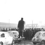 Alberto Gavioli, Fiat Modena comizio anni 60.
