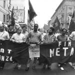 Manifestazione contratto 1990