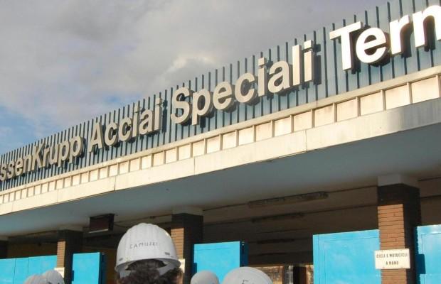La Acciai Speciali Terni in una foto di archivio. ANSA