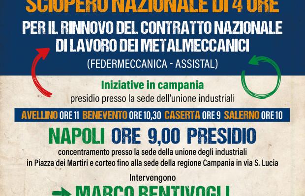 Sciopero 20 aprile Campania