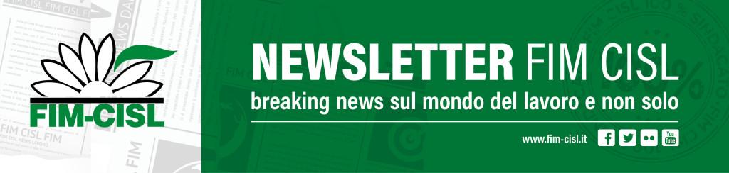 banner testata newsletter FIM CISL