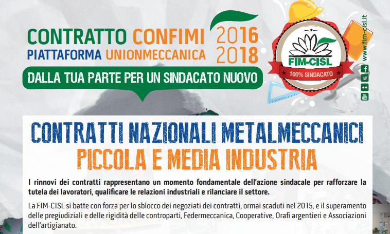 Attivo nazionale delle delegate e dei delegati fim cisl for Ccnl legno e arredamento piccola e media industria