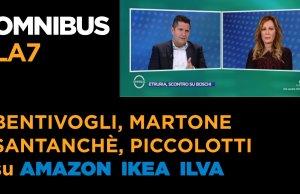 Bentivogli, martone, Santanchè, Piccolotti su AMAZON IKEA ILVA