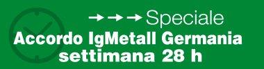 Accordo IG Metall 28 ore