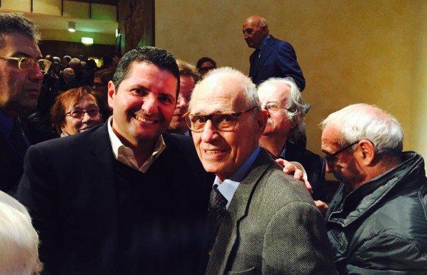 Pierre Carniti con Marco Bentivogli