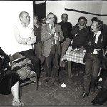 Inaug. Romitorio - parla Carniti alla sua destra Guido De Guidi a sinistra seduta la consorte di Daniele Serratoni