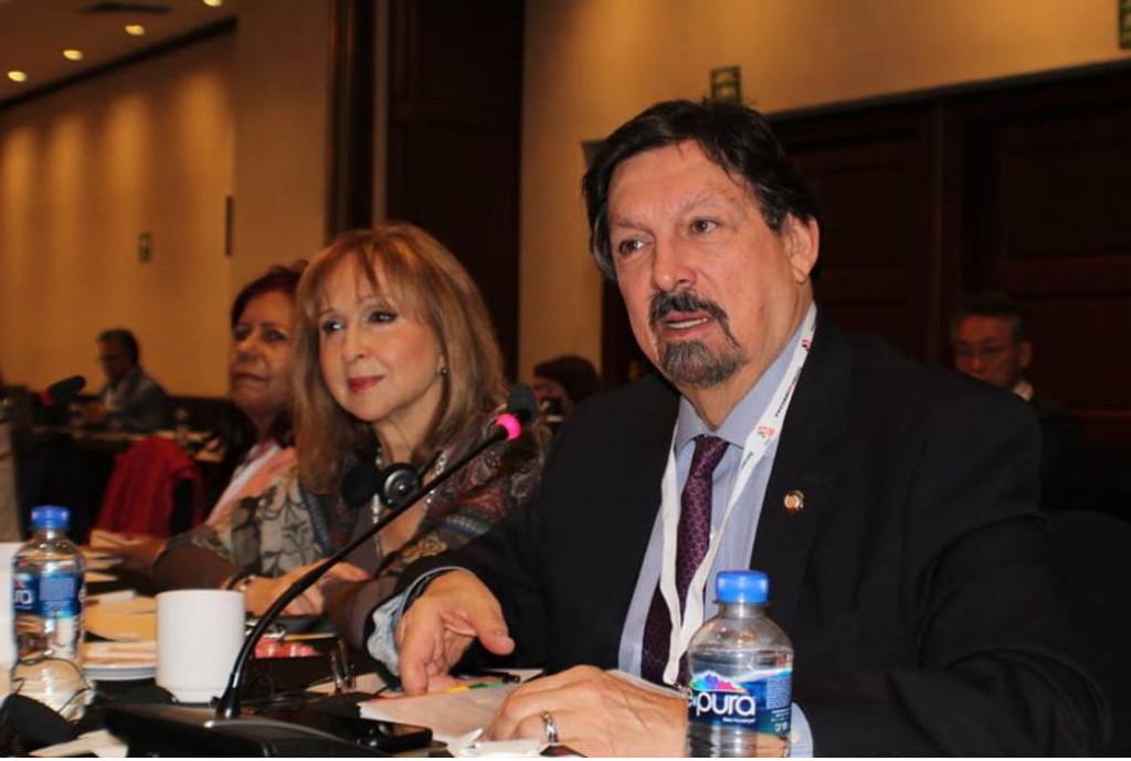 Intervento del Senatore degli Stati Uniti del Messico Napoleon Gutierrez Urrutia.