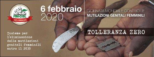 Giornata Internazionale contro le Mutilazioni Genitali Femminili 2020